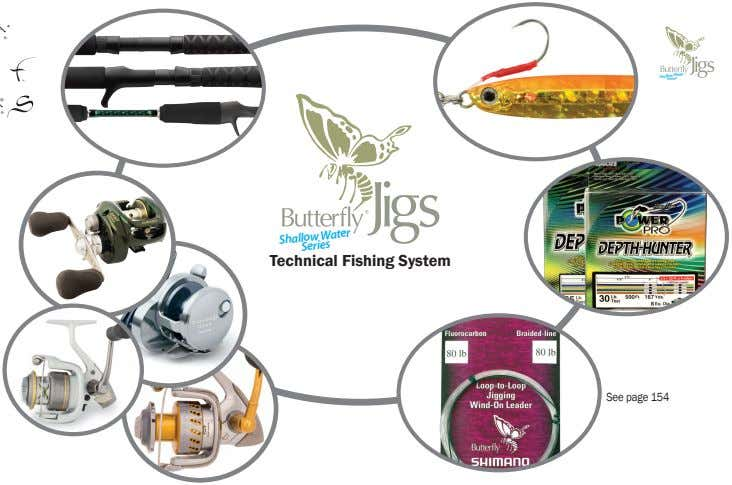 Shallow Water Series Technical Fishing System Shallow Water Series See page 154