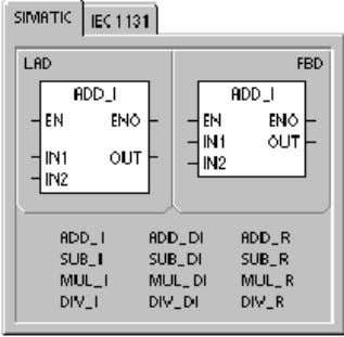the math operation. Special Memory bits affected SM1.0 (zero) SM1.1 (overflow) SM1.2 (negative) SM1.3 (divide by