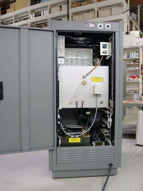 "Manufacturer, Meteor Burst Communication 40 to 45MHz, 5KW CW"" Amplifiers. http://www.ampsystems.com/asiprod-old.htm 6"