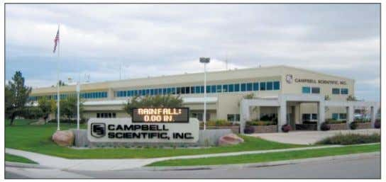 Scientific. Logan Utah, US (corporate headquarters).