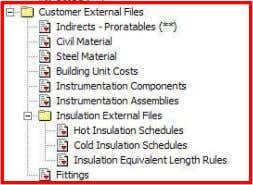 Select External Files Example of Customer File © 2010 Aspen Technology, Inc. All rights reserved |