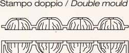 Stampo doppio / Double mould