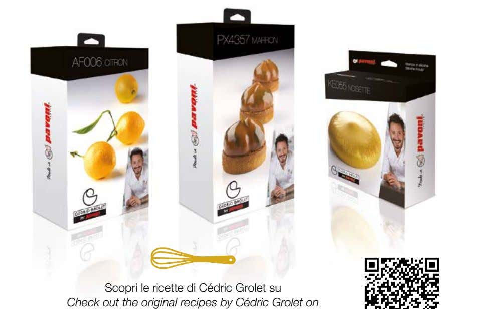 Scopri le ricette di Cédric Grolet su Check out the original recipes by Cédric Grolet
