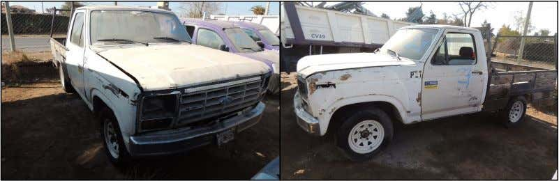 1985* - PICK UP - SIN MOTOR - CHASIS FORD N° KB1JDF21483. BASE $ 40.000 LOTE
