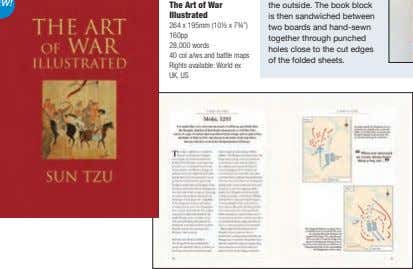 "The Art of War Illustrated 264 x 195mm (10½ x 7¾"") 160pp 28,000 words 40"