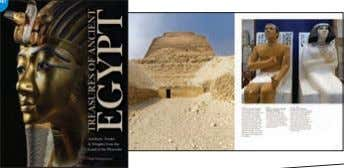 photographs Rights available: World ex Ca, UK, US NEW! Treasures of Ancient Egypt 297 x 227mm