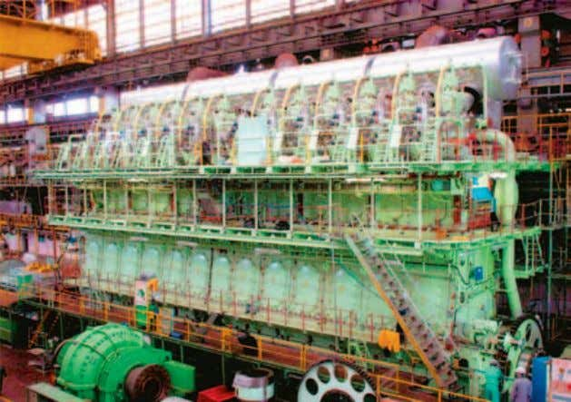 DIESEL FACTS DIESELF 12 x K98MC-C engines for booming Chinese yards Huge engine break-through in China