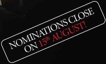 NOMINATIONS CLOSE ON 15 AUGUST! th
