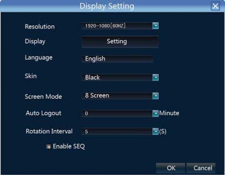 default setting is 1024×768, please select contrast 、 the best resolution according to the monitor or