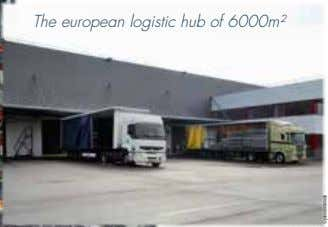 The european logistic hub of 6000m² ©photocréanomade