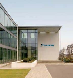 Configuration flexibility 8 Altherma benefits 11 Daikin Airconditioning UK Ltd, Weybridge Head Office
