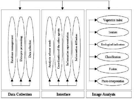 architecture used for remote sensing data classification. Figure 1: AI architecture of data classification Land cover