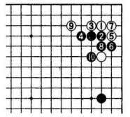 pincer Black also often plays the narrow pincer of 1. D i a . 9 Dia.