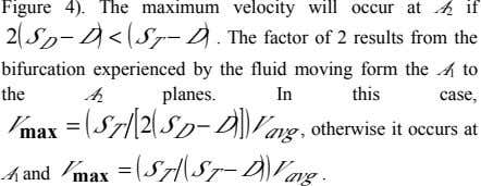 Figure 4). The maximum velocity will occur at A 2 if 2 S  D S