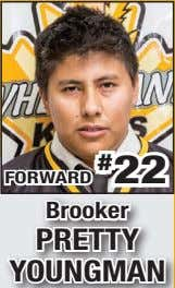 FORWARD # 22 Brooker PRETTY YOUNGMAN