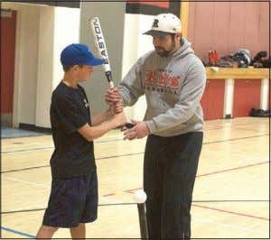Batter up Strathmore Minor Baseball Association's 12th annual Winter Camp commenced on Jan. 8 at