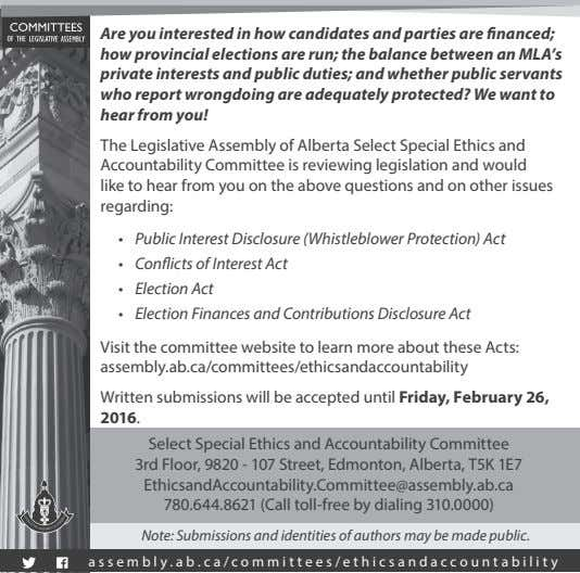 Are you interested in how candidates and parties are financed; how provincial elections are run;