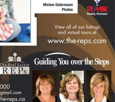 Miriam Ostermann Photos View all of our listings and virtual tours at www.the-reps.com