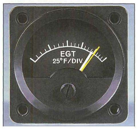 temperature, a pilot can use an EGT gauge to obtain Figure 2-15. The fuel/air mixture can