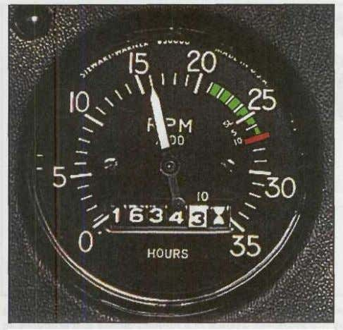 Operation, Maintenance, Inspection, and Overhaul 2-11 Figure 2-16. The tachometer is a primary engine instrument