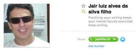 Contact Jair on Skype Here's an example of a screenshot from a Youtube video recording of