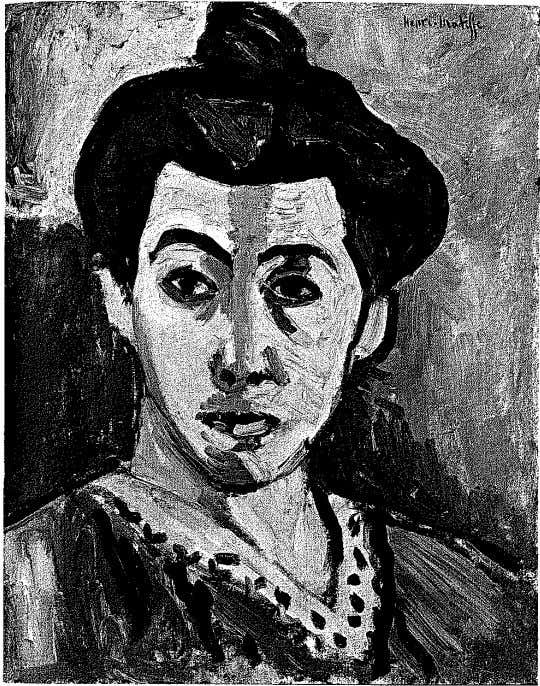 of the South of France began to paint frankly hedonistic 8g HENRI MATISSE (r869-1954) Portrait with