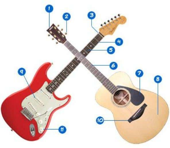 Guitars can be classified into 2 main categories, acoustic and electric. Well you play them in
