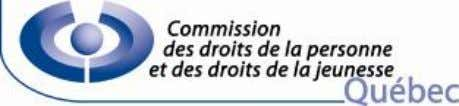Cat. 2.412.112 MÉMOIRE À LA COMMISSION DES INSTITUTIONS DE L'ASSEMBLÉE NATIONALE A VANT - PROJET DE
