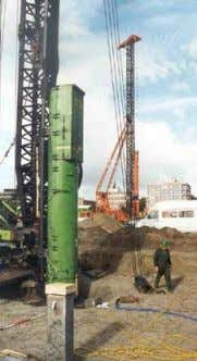 21 Driving Concrete Piles Advantages Possible high quality Tested properties Disadvantages Limited length Transport