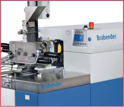 Original Brabender ® Instruments for Material Research and Quality Control … where quality is measured.