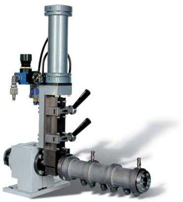 to heat formation due to internal friction. Therefore, this extruder is frequently applied with ceramic materials.