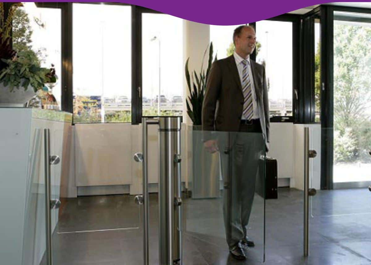 Security Access Winglock 900 Automatic Pedestrian Control The Winglock 900 offers a stylish indoor security access