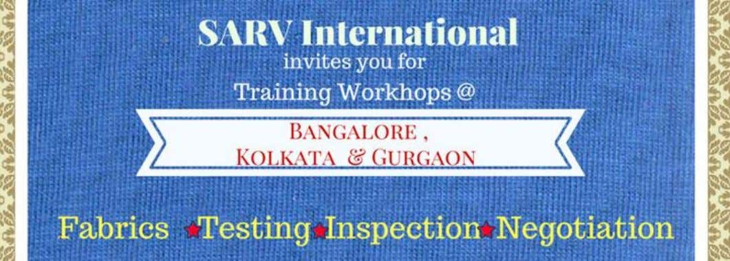 Workshop 1 : Understanding Fabrics : A Practical Approach A practical industry oriented workshop on
