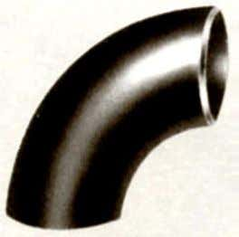 such as couplings and stop the flows such as Caps. Elbow: A Long Radius elbow is