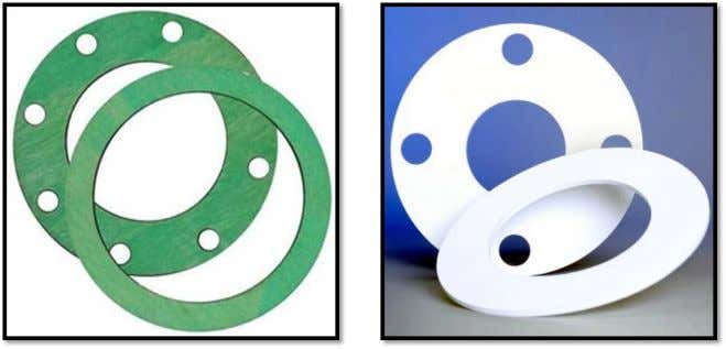 Full face gasket can only be used with FF flange and normally used for temporary
