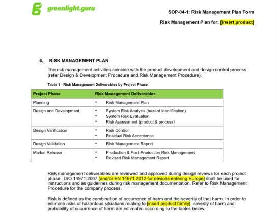 Free Risk Management Plan Template Free Risk Management Plan Template + Exclusive Bonus Offer: