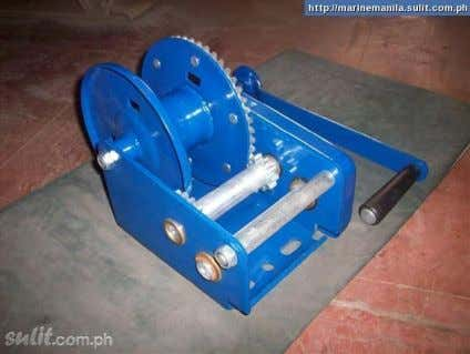 BATCH PROJECT 2015 ` For Altitude Control MAURER Hand Winch / Brake Winch Estimated Price: Features:
