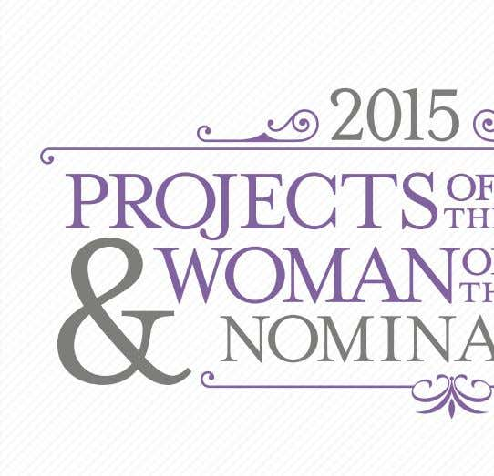 Nominations are now Open! Submit your Nominations by August 31, 2015 Honoring excellence in design,
