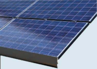 closely with leading solar developers, racking system pro- Credit: EcoFasten Solar. viders, roofing manufacturers and