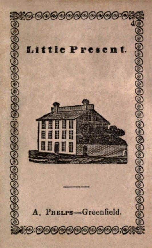 Little Present. A. Phelps—Greenfield. A LITTLE PRESENT, FOR A GOOD CHILD. Little Present. 1
