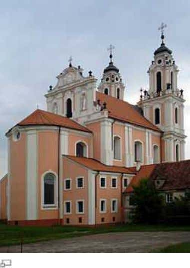The Church of St. Catherine in Vilnius The magnates throughout th e country competed with the