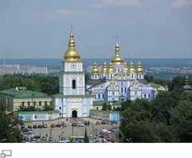 Ukraine Main article: Ukrainian Baroq ue St. Michael's Golden-Domed Monastery Ukrainian Baroque is an arch itectural