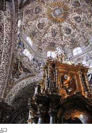 Catedral Metropolitana , Mexi ico City , started in 1573 Main articles: Spanish Baroqu e architecture