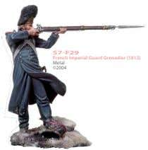 S7-F29 French Imperial Guard Grenadier (1812) Metal ©2004