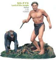 SG-F75 Lord of the Jungle Metal 1:32 ©2003