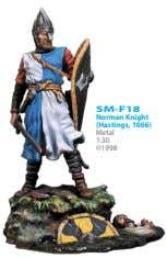 SM-F18 Norman Knight (Hastings, 1066) Metal 1:30 ©1998