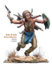 S4-F34 Sioux Warrior Metal ©2004
