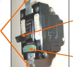 Mounts in standard switch box. Switch Box Mounting Ears On-Off Toggle Switch System Protection Sheet 3