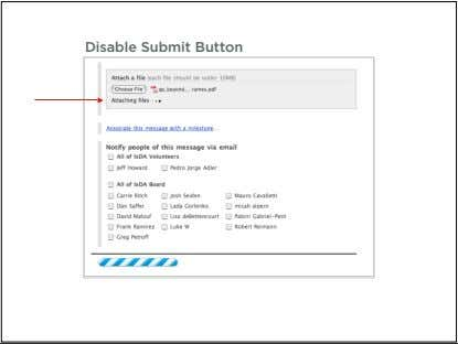 Disable Submit Button 109