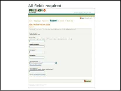 All fields required 25